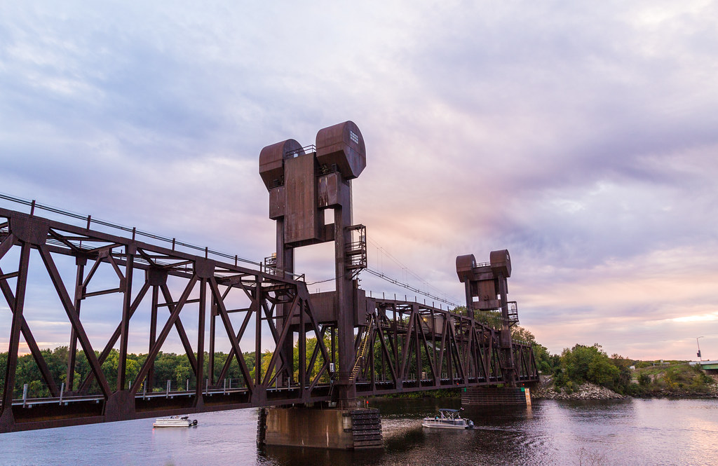 BNSF Lift Bridge – Prescott, Wisconsin